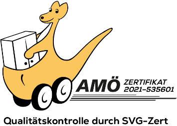 AMÖ Zertifikat 2021 Logo