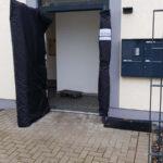 Schutzverkleidung an Haustüre bei einem KTS Umzug