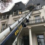 KTS Möbellift mit Ladefläche im Obergeschoss der St. Josef Schule in Bad Honnef