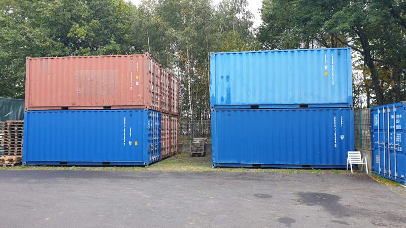 KTS 20 Fuß Seecontainer