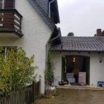 Umzug Einfamilienhaus, Ansicht Garage